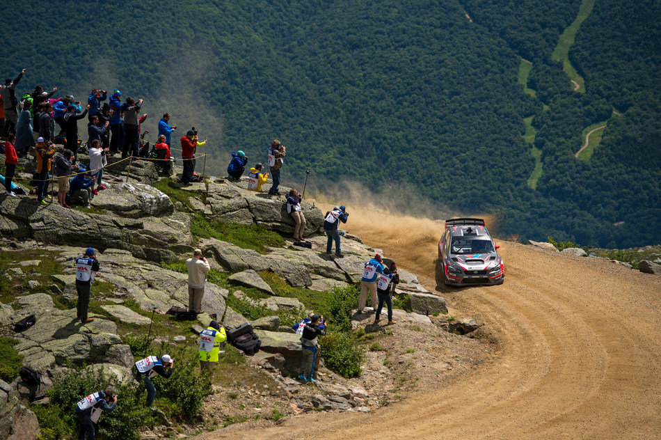 Travis Pastrana Slides His Subaru to a New Record at the Mt. Washington Hillclimb