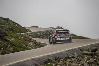 Travis Pastrana Pilots His Subaru WRX STI to the Summit of Mt Washington in Record Time