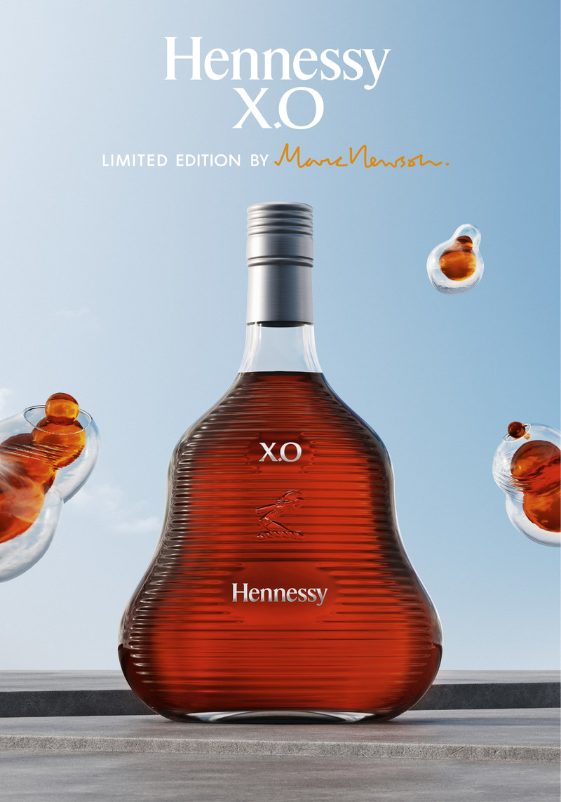 Hennessy, the world's best-selling Cognac, unveils the Hennessy X.O 2017 limited edition bottle by world-renowned designer Marc Newson.