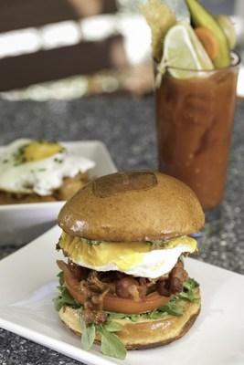 The Hudson breakfast sandwich