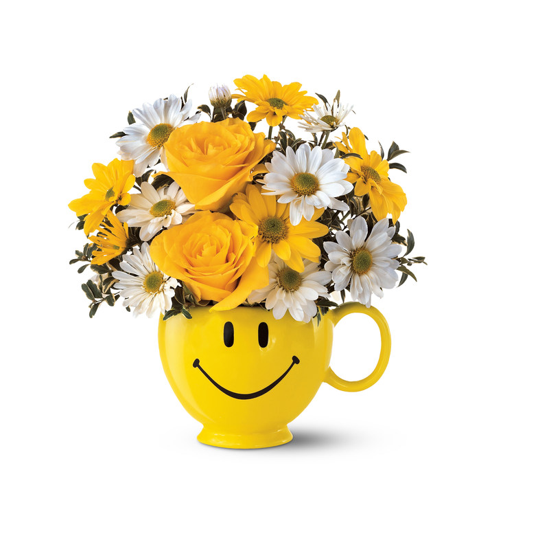 Teleflora Be Happy Bouquet Honors 17th Annual Make Someone Smile Week