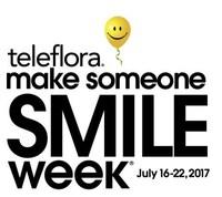 Teleflora Make Someone Smile Week 2017 logo