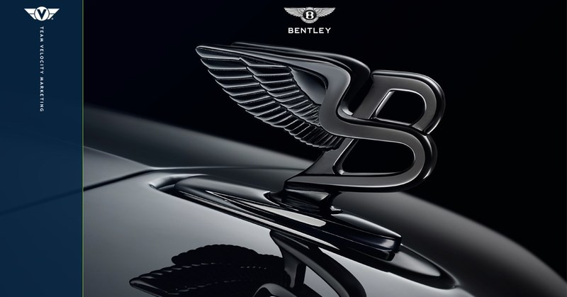 Team Velocity Marketing has been appointed the new Tier 3 advertising agency of record for Bentley Motors Inc. in North and South America.