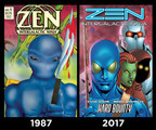 The Changing Face of Alien Superhero Zen Intergalactic Ninja as he Celebrates His 30th Anniversary at Comic-Con
