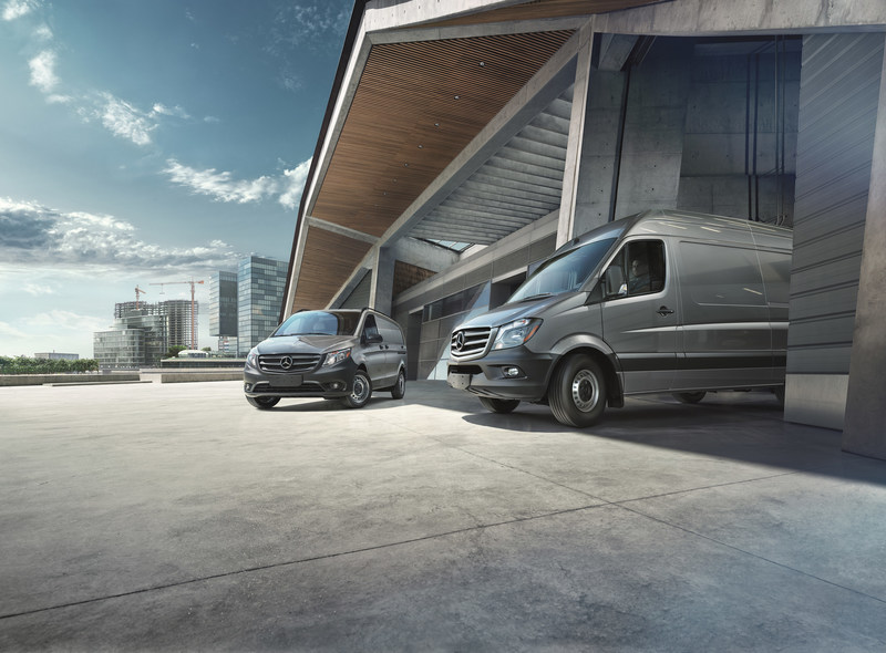 Mercedes-Benz Vans are once again among the winners of the Vincentric Best Fleet Value in Canada awards, which recognize vehicle value in terms of overall lifecycle cost. (CNW Group/Mercedes-Benz Canada Inc.)