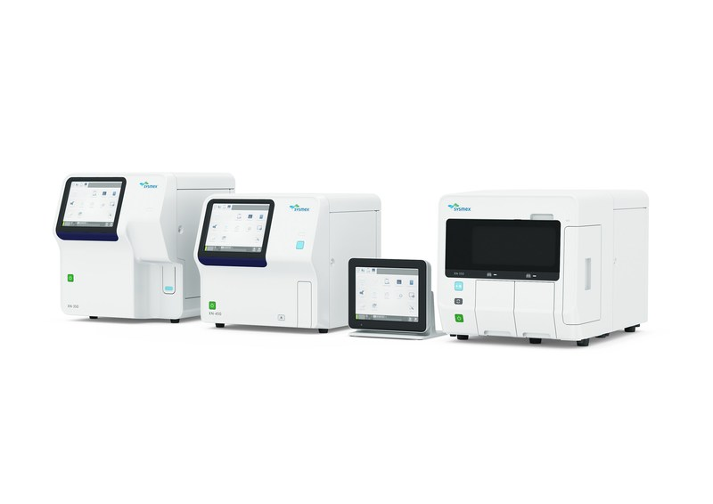 Sysmex XN-L Automated Hematology Analyzers.  XN-350,  XN-450 and XN-550 all come standard with new BeyondCare Quality Monitor program.