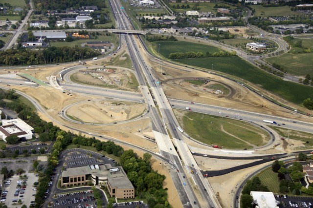 Ohio Department of Transportation's I-270/US 33 Interchange, designed by CH2M, received the 2017 ODOT/ACEC Partnering Award for Excellence in Highway Design in the Best Urban Project category.
