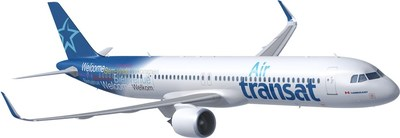 AirbusA321neoLR (Groupe CNW/Transat A.T. Inc.)