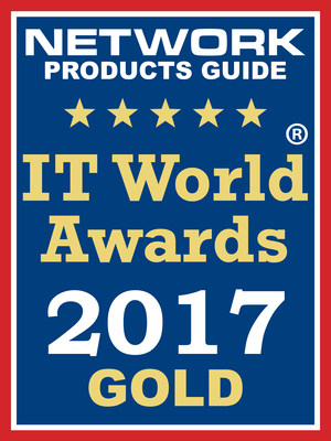 Epson BrightLink Pro 1460Ui was Awarded Gold in the Network Products Guide 12th Annual IT World Awards.