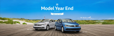Hall Volkswagen is hosting VW Model Year End Event until the end of the month.