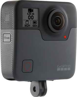 GoPro Ships First Fusion Pilot Units