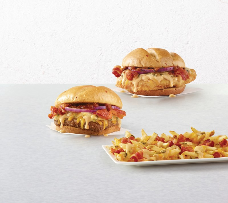 Wendy's® is feeding America's queso obsession with the new limited-time Bacon Queso Burger, Bacon Queso Chicken Sandwich and Bacon Queso Fries – inspired by the queso obsessed, for the queso obsessed. Wendy's has taken three fan favorites –  fresh, never-frozen beef, chicken sandwiches and topped fries – and made them even better by adding queso.