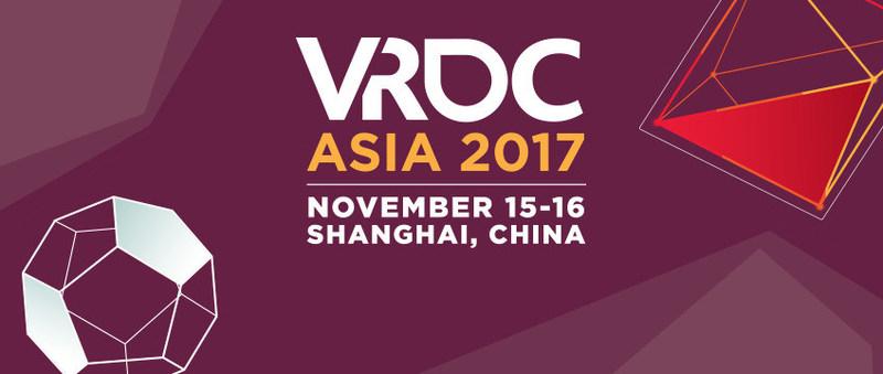 VRDC Asia 2017