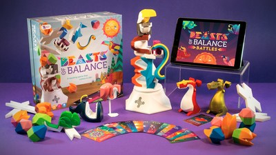 Beasts of Balance, the award-winning augmented reality video game-tabletop hybrid, is now on Kickstarter with its first expansion packs, including BATTLES and the More Beasts Pack. The campaign aims to raise $50K by mid-August in order to bring forth innovative new features for everyone's favorite version of 21st century Jenga. Find us on Kickstarter!