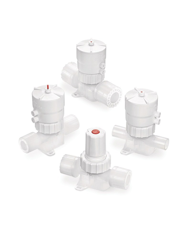 Integra® Plus WS (weir style) family of fluid management valves