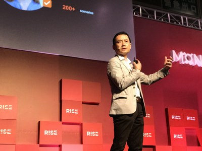 Ping An Technology CEO Ericson Chan attends Asia's Largest Tech Event RISE