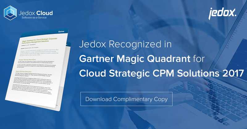 Global Corporate Performance Management software vendor Jedox was recognized for its cloud solutions, which help enterprises around the world simplify their planning, budgeting, and forecasting processes.