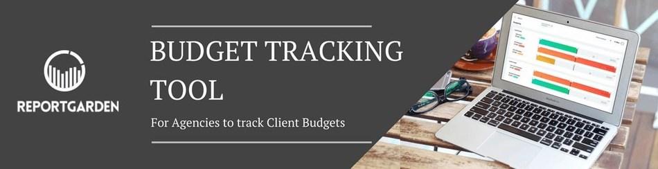 Budgeting tracking tool, ReportGarden (PRNewsfoto/ReportGarden)