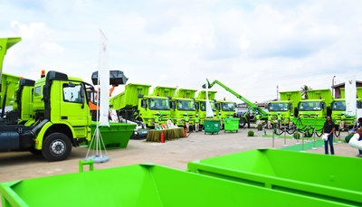 Visionscape wins Municipal Waste Management Contract for the City of Lagos (PRNewsfoto/Visionscape)