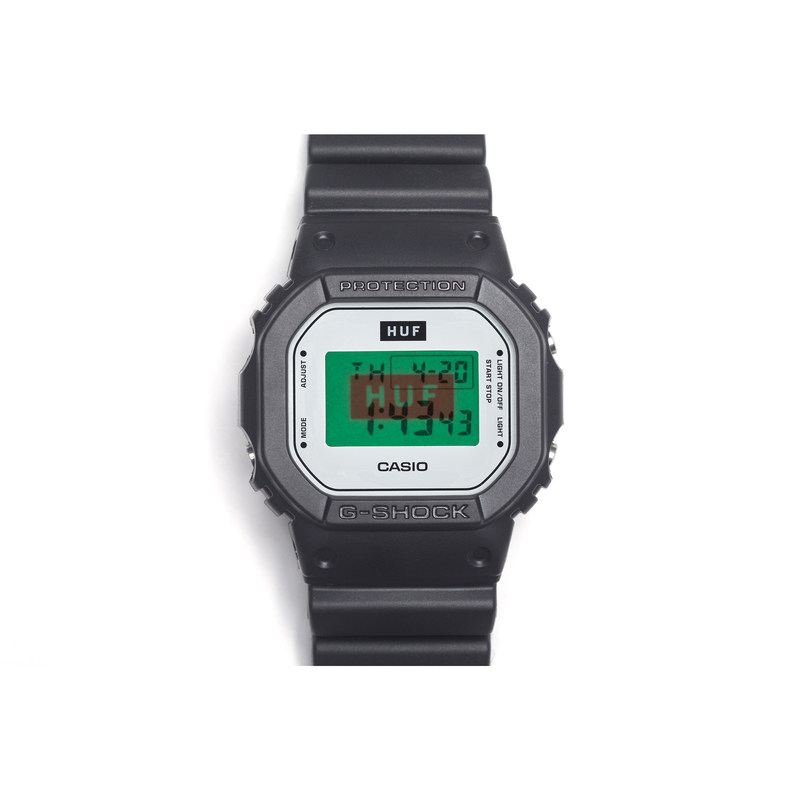 G-SHOCK Celebrates HUF's 15th Anniversary with Debut of New Collaboration Watch, the Special Edition DW5600HUF-1