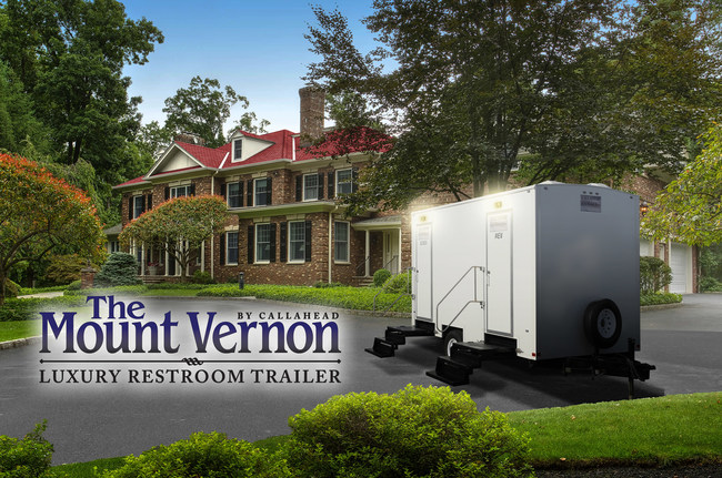 'The Mount Vernon' Luxury Restroom Trailer by CALLAHEAD