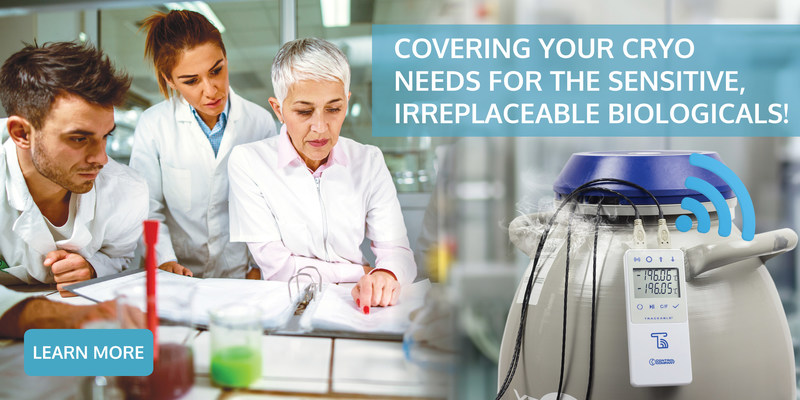 Preserving organisms made easy. Traceable® Products launches the new LN2 digital thermometer that consistently ensures the vitality of stored irreplaceable biologicals such as cells lines, cell cultures and tissues.