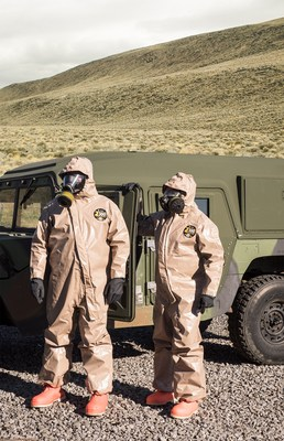 Kappler produces a wide range of protective apparel for military and other government applications, including innovative garments like the Zytron® 300 NFPA-certified style shown.
