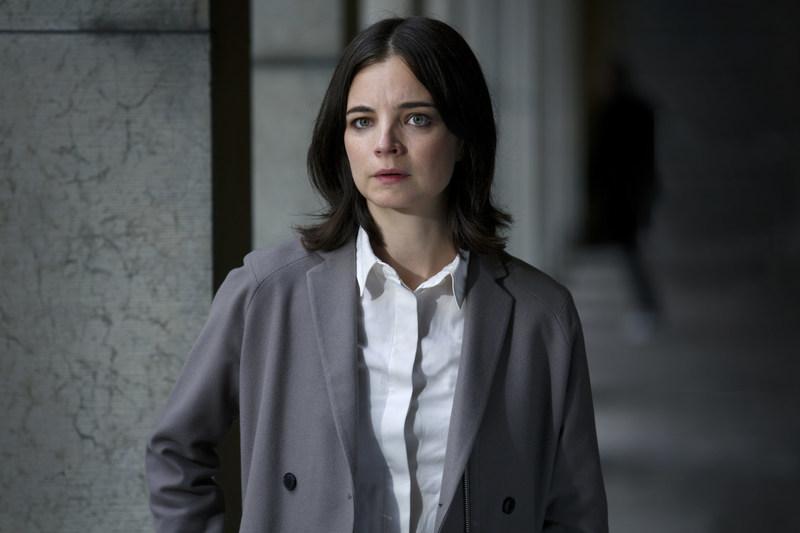"""Louise Peterhoff as Elin Hammar in """"Blue Eyes"""""""