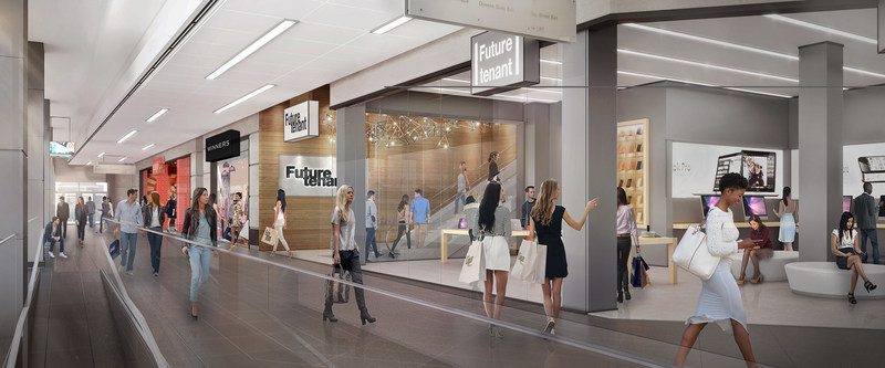 PATH Retail at One York (CNW Group/Menkes Developments Ltd.)