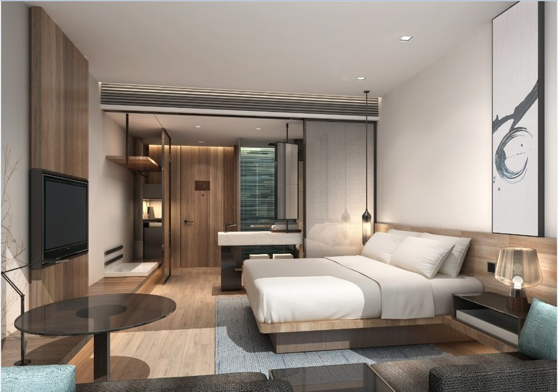 Fairfield by Marriott Nanning Nanhu Park King Guest Room
