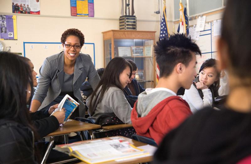 Sacramento-area school administrator Ilesha Graham, Schools Financial member since 1998.
