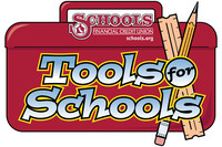 Tool Boxes can be purchased in all Schools Financial branches for as little as $2.