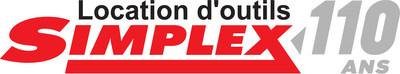 Logo 110e anniversaire - Location d'outils Simplex (Groupe CNW/Location d'outils Simplex)