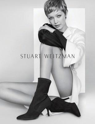 New Season, New Look: Gigi Hadid Is Transformed in Stuart Weitzman's Fall/Winter 2017 Advertising Campaign