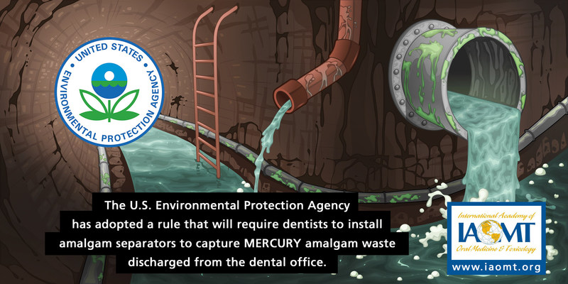 The EPA utilized measures in the Clean Water Act to develop standards requiring that dental offices install amalgam separators.  This requirement will go into effect on Friday, July 14, and the EPA has estimated that it could reduce the discharge of mercury by 5.1 tons annually.