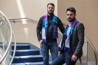 Jaime García, gerente de Marketing e Parcerias, e Fernando Andreazi, responsável pela Divisão Empresarial Red Cloud e Red AD da Red Belt no Brasil.