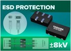 Toshiba Introduces ESD Protection Diodes for High-Speed Interfaces in Mobile Devices
