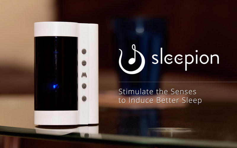 Sleepion: Stimulate the Senses to Induce Better Sleep