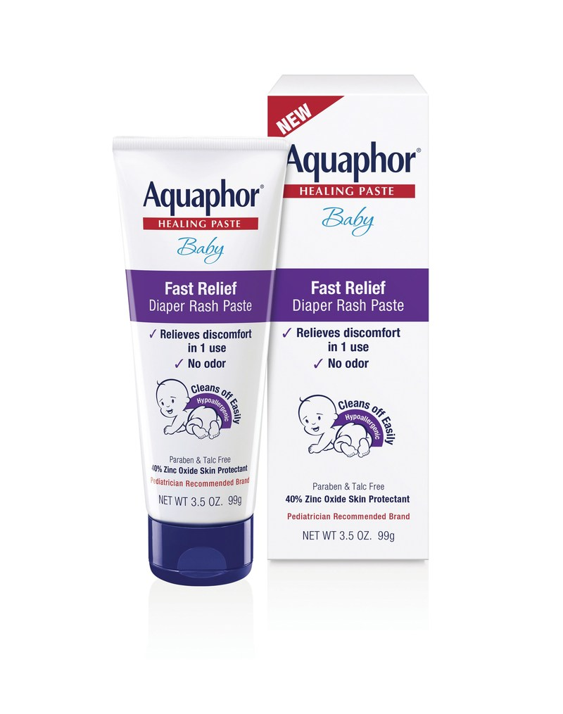Aquaphor Baby® Fast Relief Diaper Rash Paste