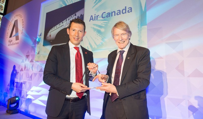 Air Canada Named Winner in Finance for The 2017 Airline Strategy Awards (CNW Group/Air Canada)