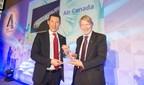 Air Canada est déclarée gagnante dans la catégorie des finances aux Airline Strategy Awards de 2017 (Groupe CNW/Air Canada)