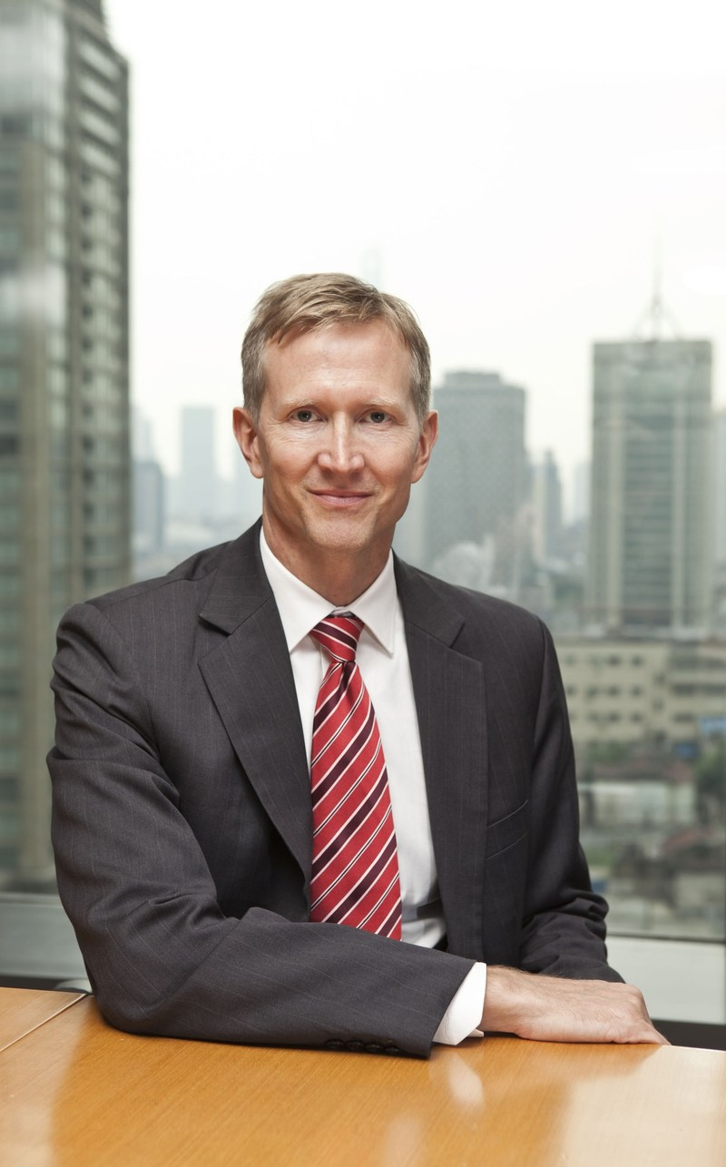 Mark Gilbraith, PwC Consulting Head China