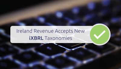 Ireland Revenue Accepts New iXBRL Taxonomies (PRNewsfoto/DataTracks Services Limited)