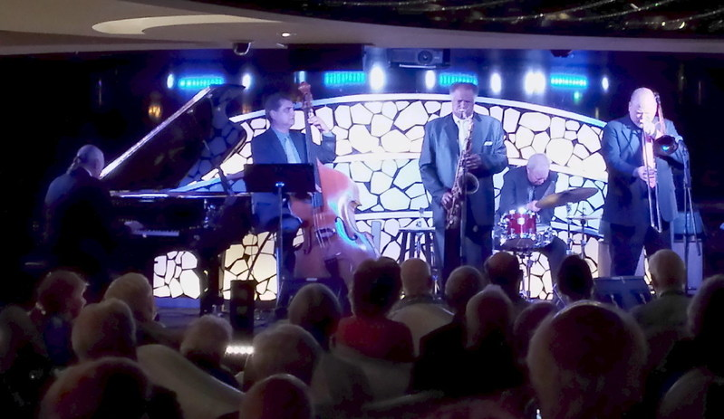 Jazz All-Stars including Houston Person and Butch Miles who will be onboard the next JazzFest at Sea.
