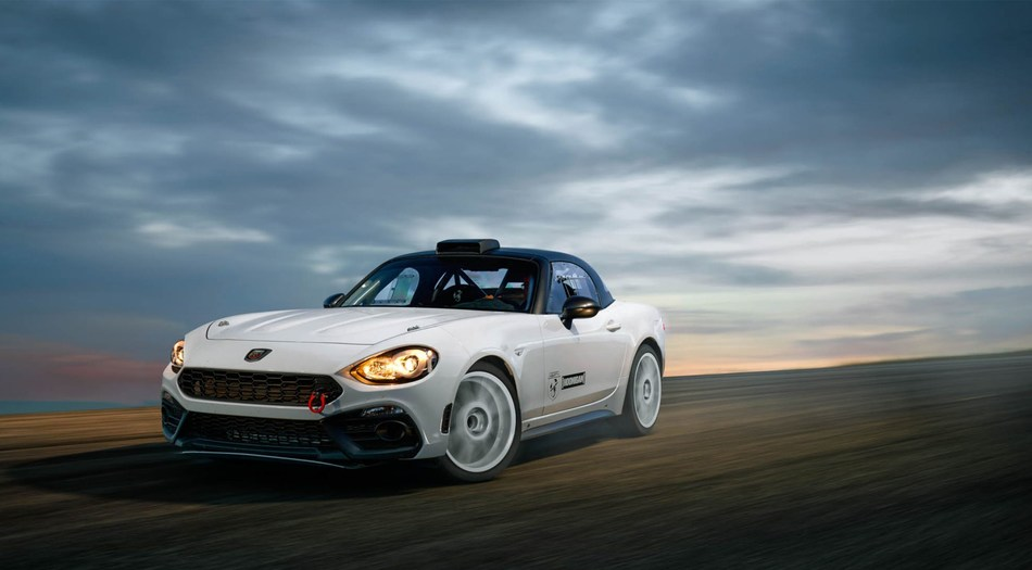 FIAT/Hoonigan search for female racer to pilot Fiat 124 Spider Abarth rally car