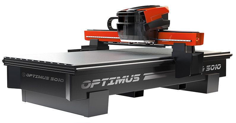 AXYZ International's Optimus CNC router is an innovative CNC cabinet routing and material handling solution designed exclusively for cabinet makers and woodworkers.