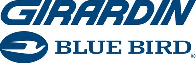 Logo : Girardin Blue Bird (Groupe CNW/Girardin Autobus Inc)