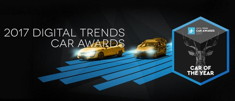 DigitalTrends.com Announces 2017 Car Awards Winners