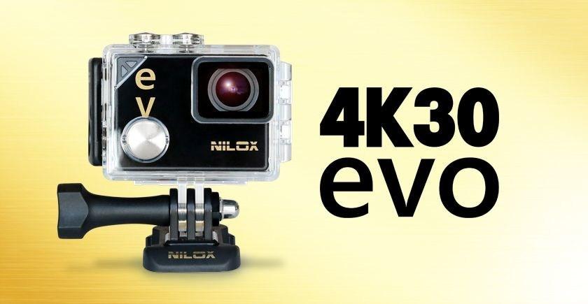 Nilox EVO 4K 30, the most advanced action cam by Nilox (PRNewsfoto/Nilox)