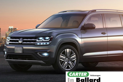 Carter Volkswagen highlights the all-new 2018 Volkswagen Atlas